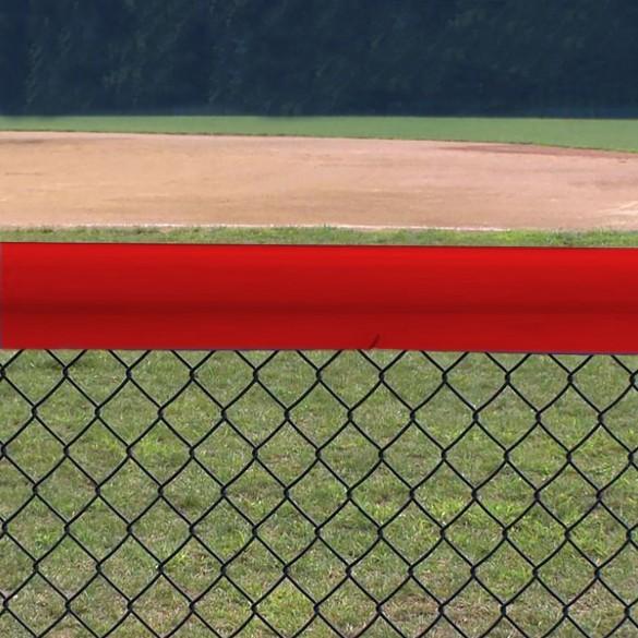 Original Baseball Fence Guard Premium 84' (Red) - 01166-RED7