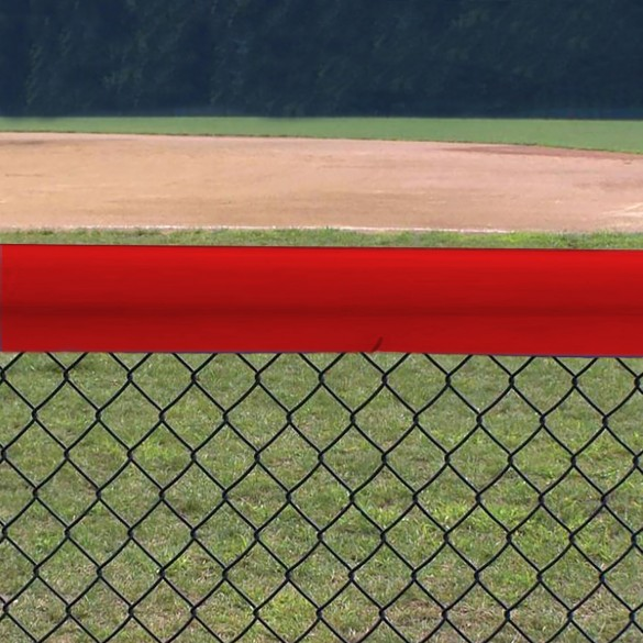 Original Baseball Fence Guard Standard 84' (Red) - 01923-RED7