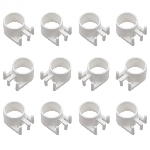 Replacement Post Sleeve (Tri Cleat) For FlexPole and SurePost Poles - White (12 Pack) - TCS-12-W