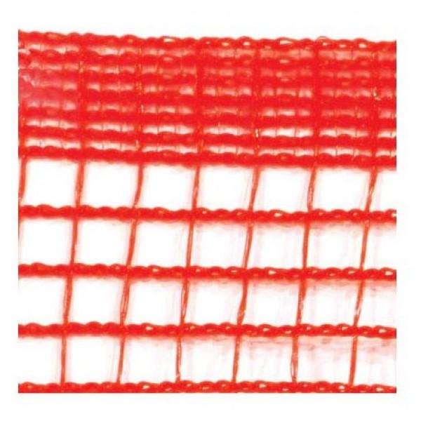 Tuff-Fence Fabric - 4 x 150 Red