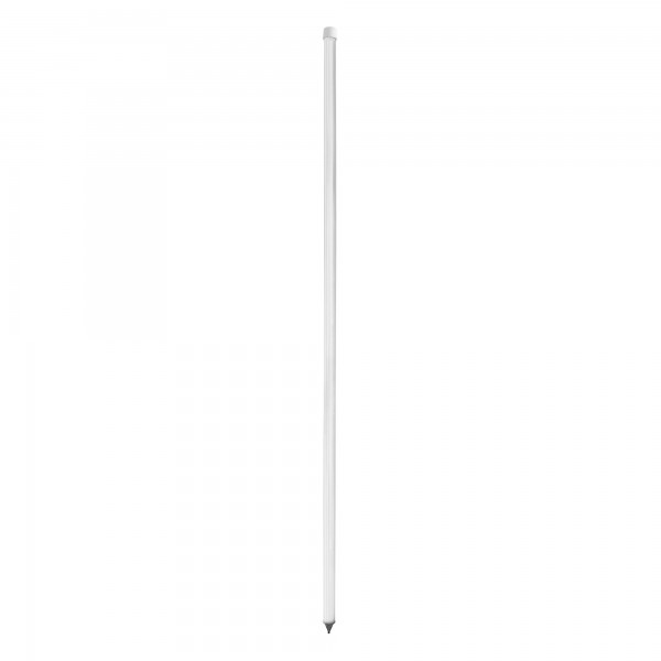 "Heavy Duty Universal 60"" White Pocket Fence FlexPole For Temporary Baseball Fence - UPWHS-1 (Single Pole)"