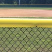 Original Baseball Fence Guard Premium 84' (Red) - 01166-RED7 (Yellow Shown As Installation Example)