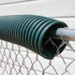 02372 Baseball Fence Poly Cap 250' Fence Topper - Ready To Install (Dark Green)