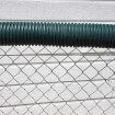 02373 Baseball Fence Poly Cap 100' Fence Topper - Ready To Install (Dark Green)