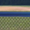 Original Baseball Fence Guard Premium Sample (Blue Sample Shown)