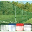 Tuff-Fence fabric is available in four colors.